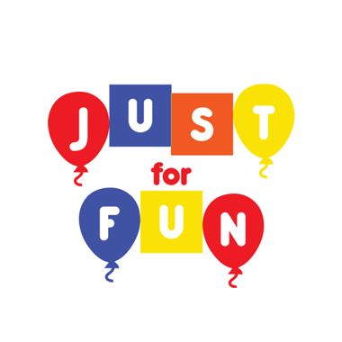 Just For Fun Party Logo